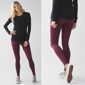 Lululemon Seamless High Rise Zone In Tights